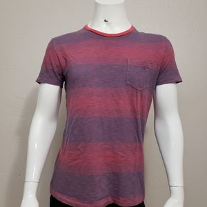 Gap Lived-In Pocket Striped Tee